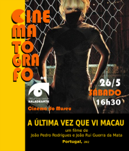 Cinematógrafo MAIO MACAU